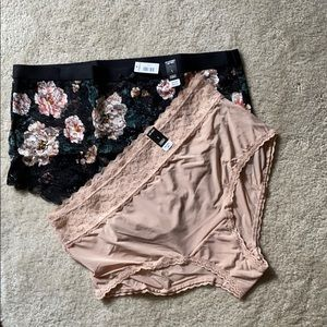 NEW torrid lace sexy brief panties 1X